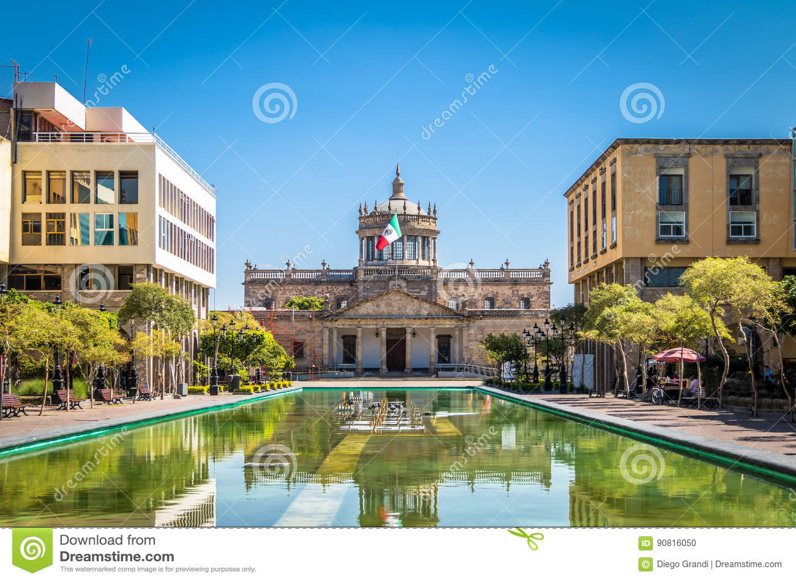 Hospicio小屋小屋文化学院-瓜达拉哈拉,哈利斯科州,墨西哥