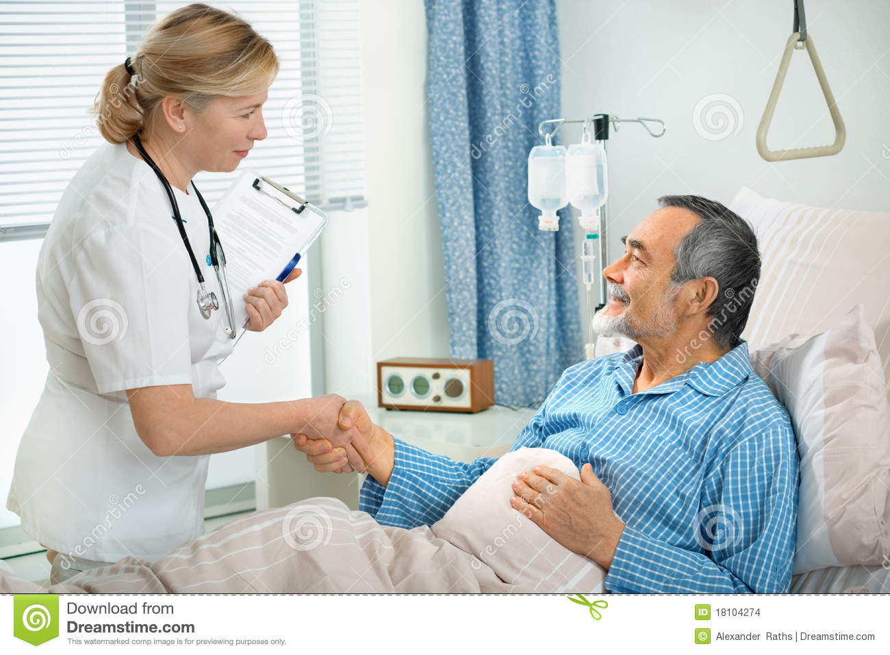 In Hospital Stock Images - Image: 18104274