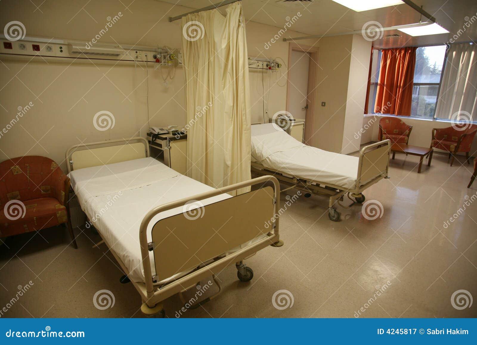 Hospital bed bedroom
