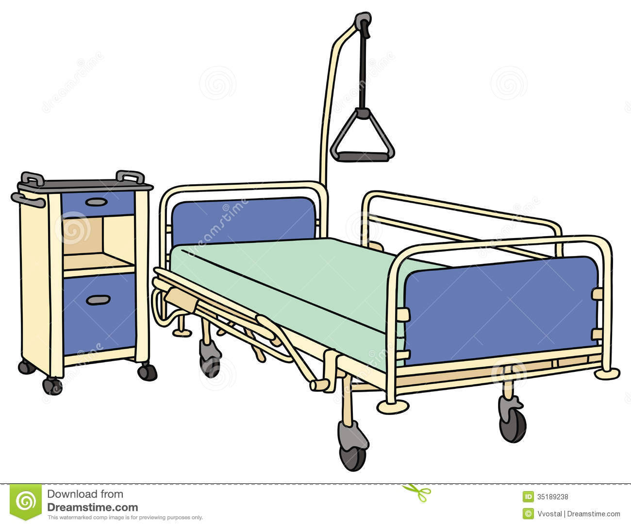 Empty Bed Clipart Made Simple Even Your Kids Can Do It Bangdodo