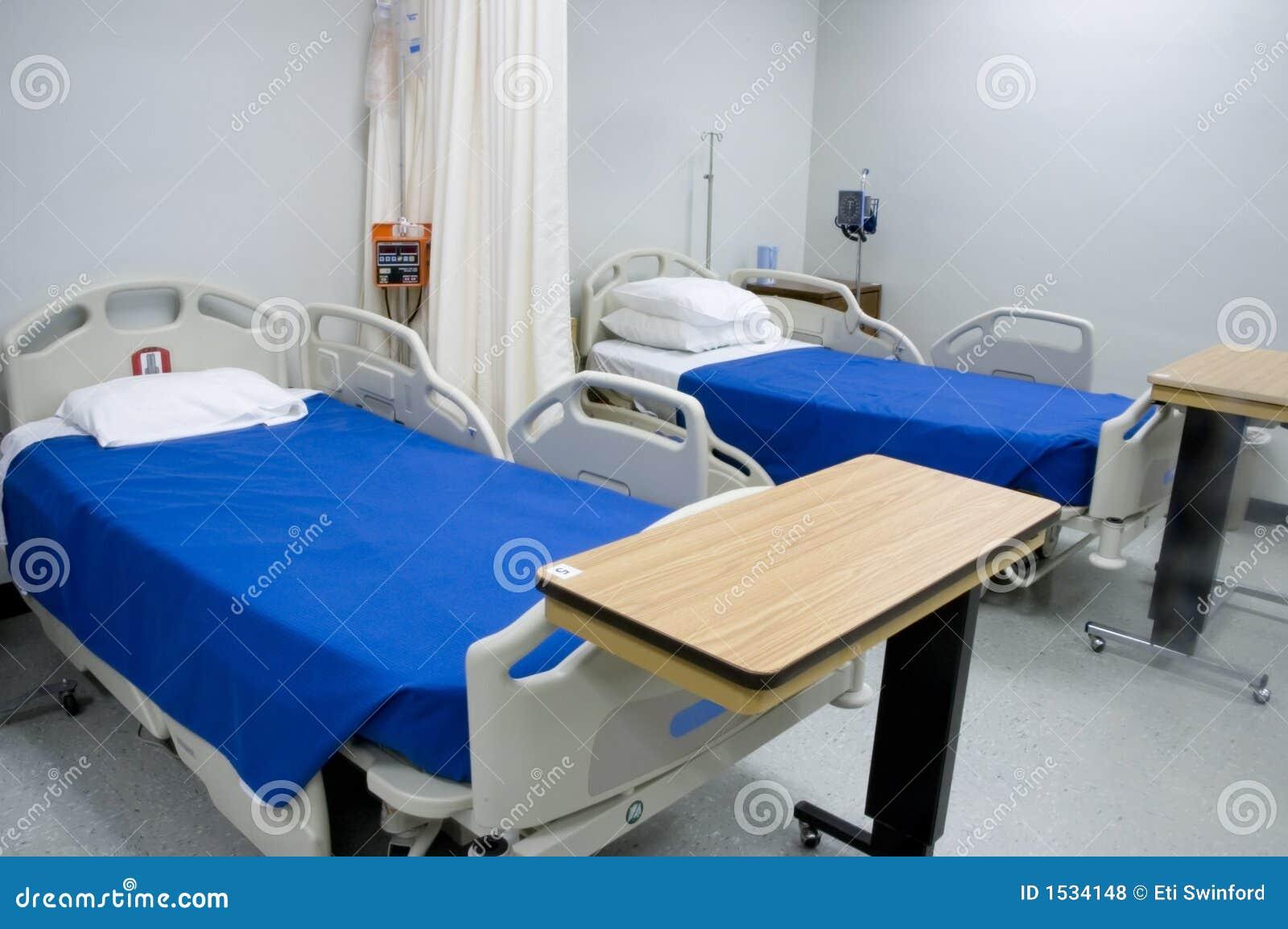 Hospital beds 3 royalty free stock photos image 1534148 for Cama cerrada