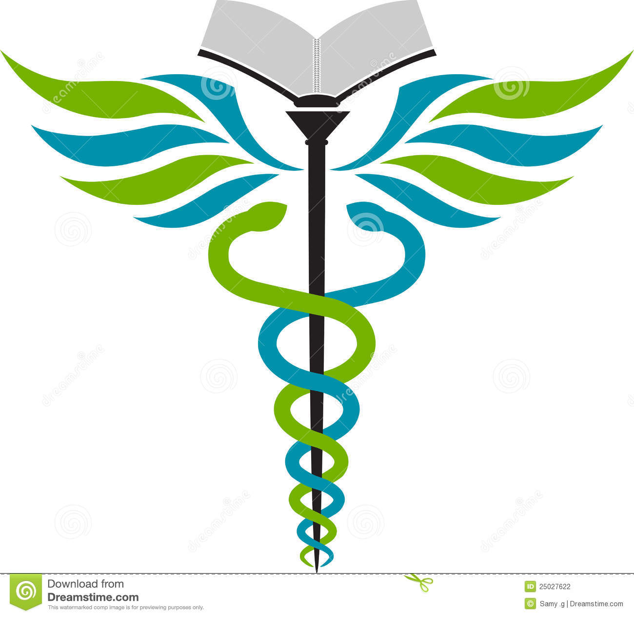 Hospital Education Logo Stock Photography - Image: 25027622