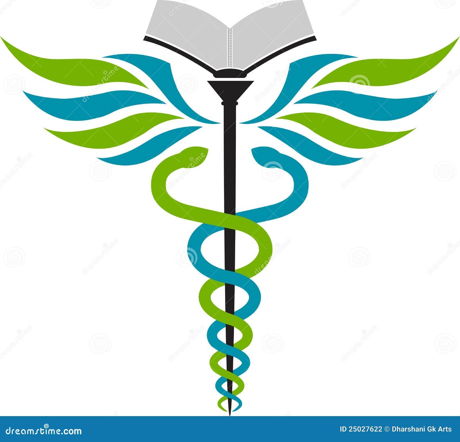hospital education logo stock photography image 25027622 caduceus medical symbol vector free Cadeus Medical