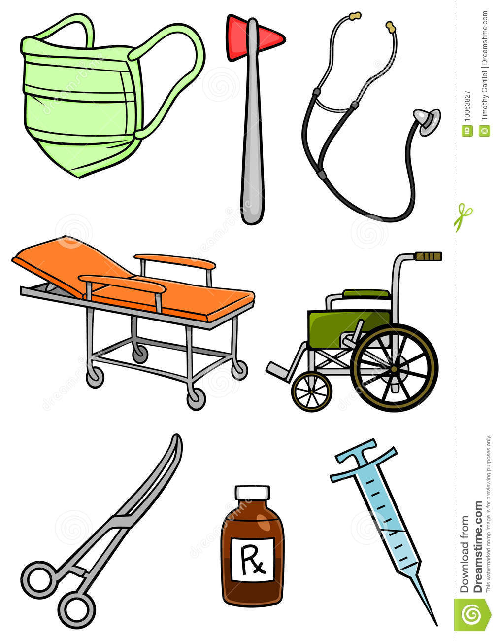 Hospital Equipment Royalty Free Stock Photography - Image: 10063827