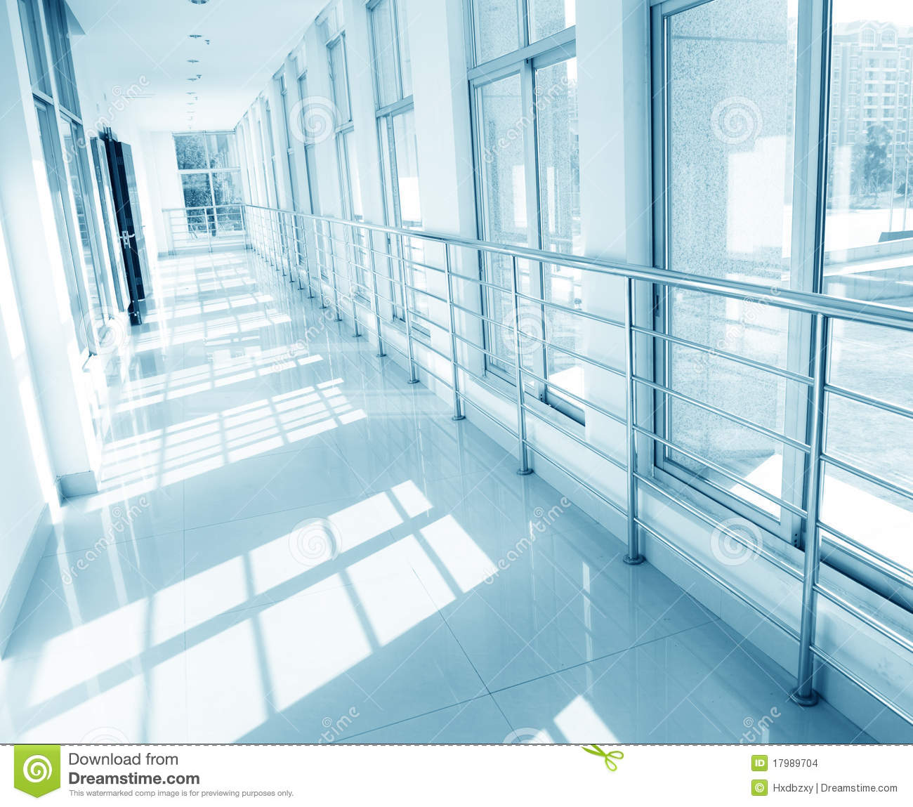 Hospital Hallway Stock Images Image 17989704