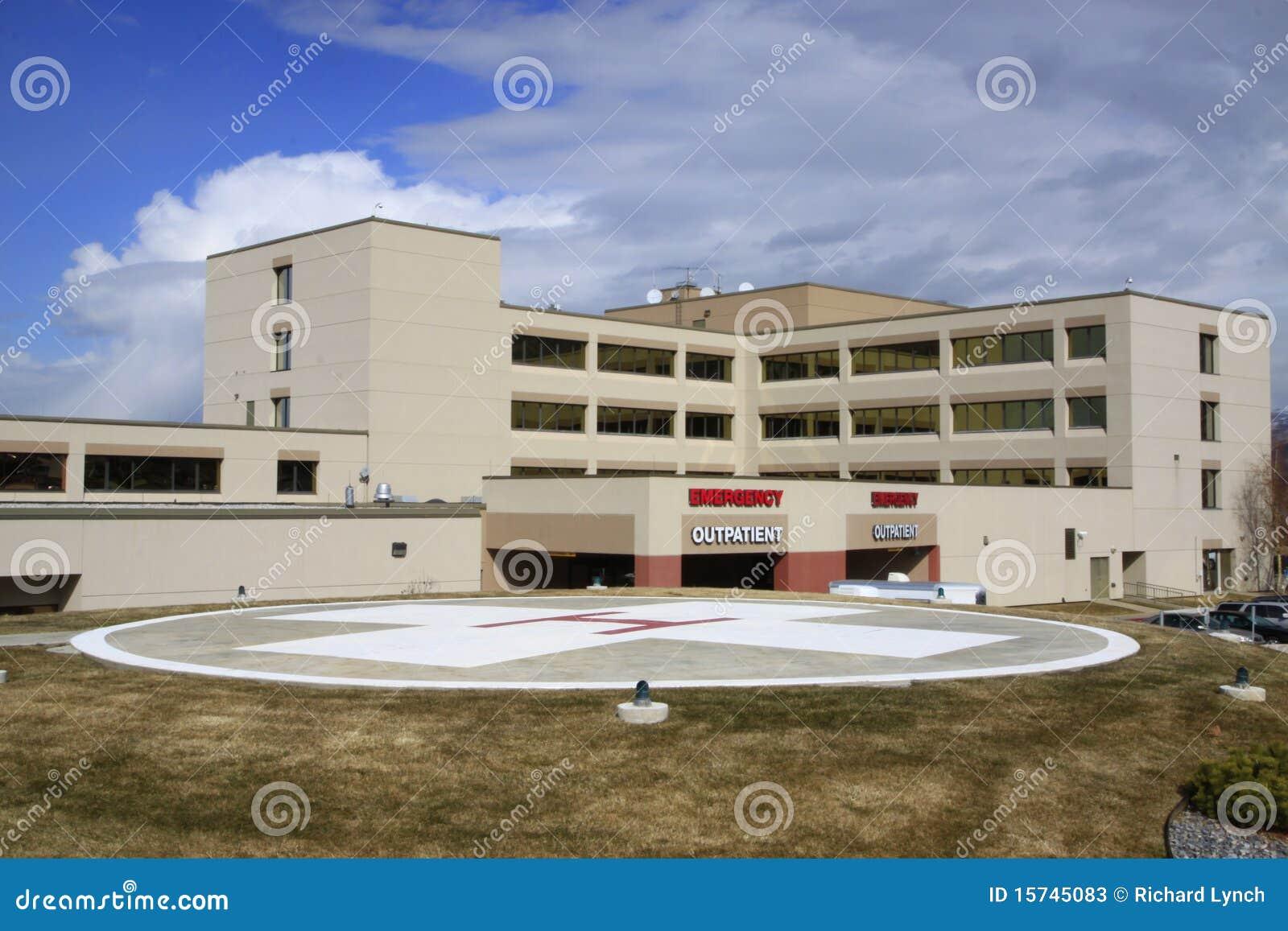Hospital & Helipad Stock Photos - Image: 15745083