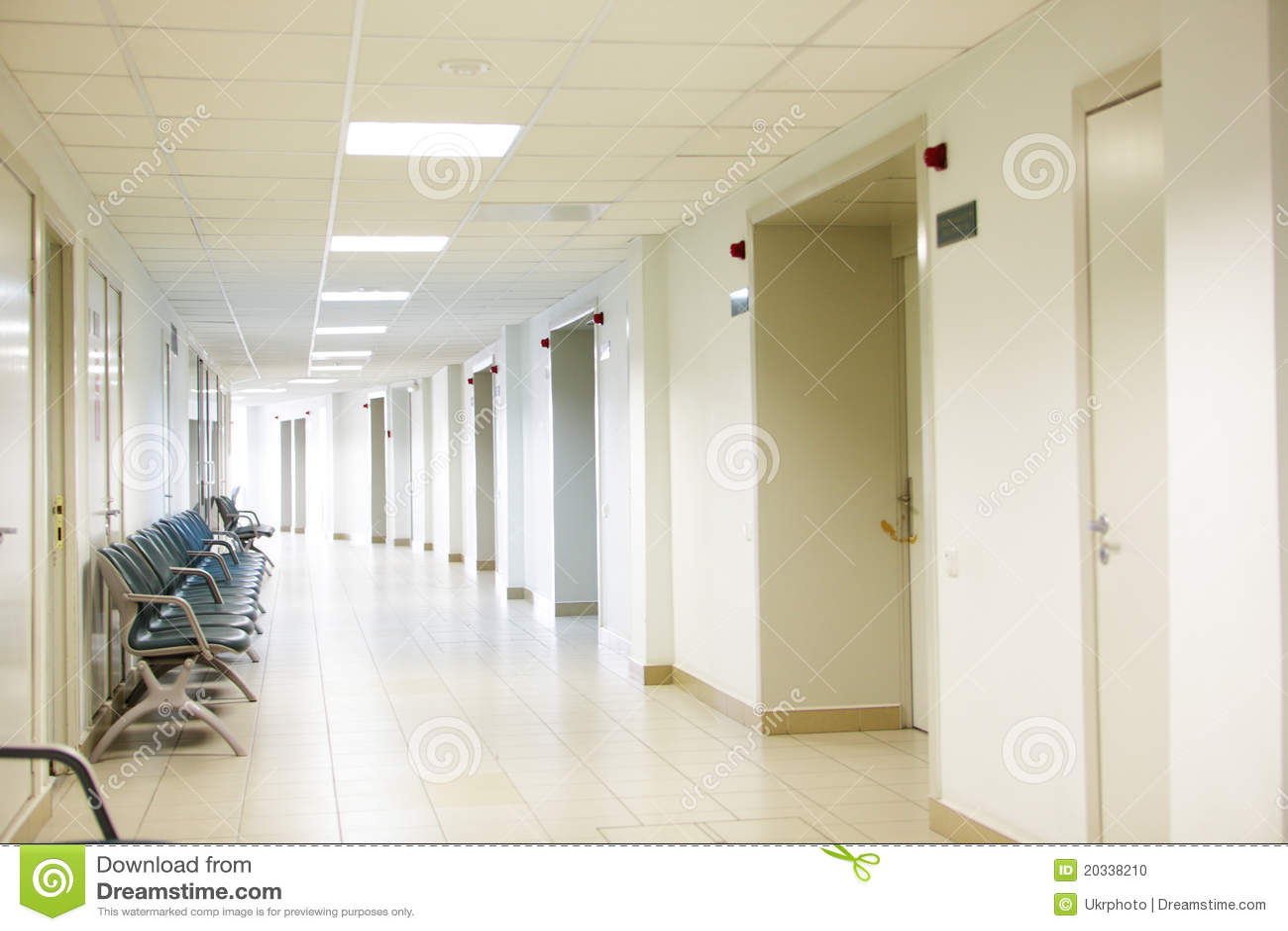 Hospital Interior Stock Photo Image 20338210