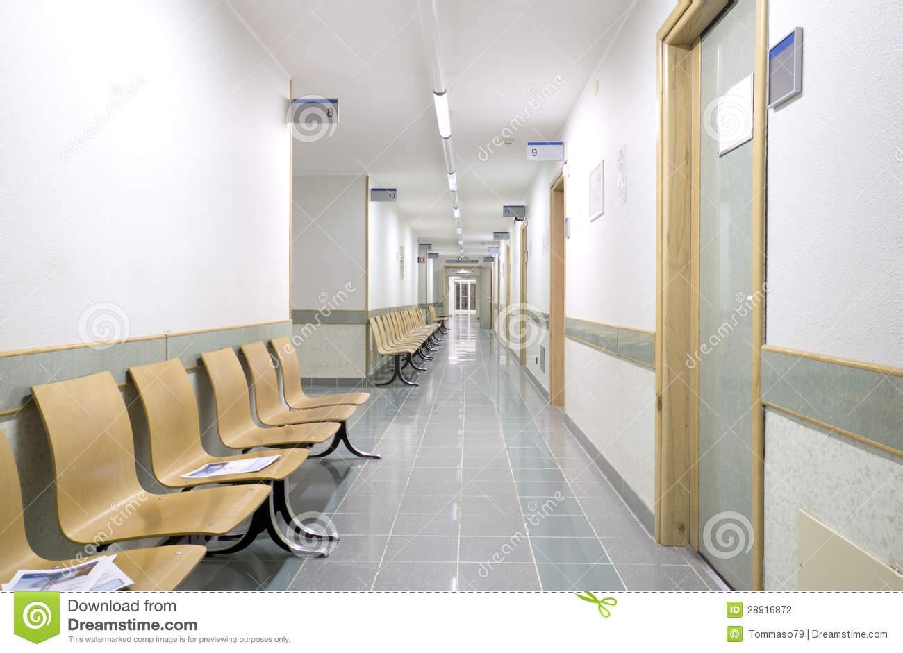 Hospital Interiors Stock Photography Image 28916872