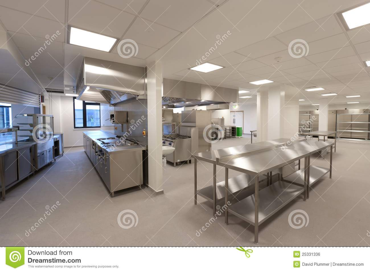 Hospital kitchen