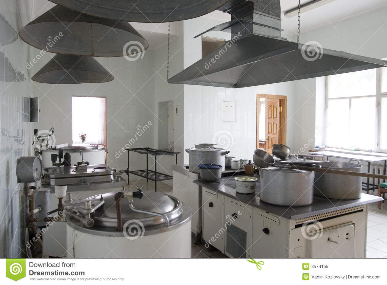 Hospital Kitchen Royalty Free Stock Photo Image: 3574155 #82A328 1300 957