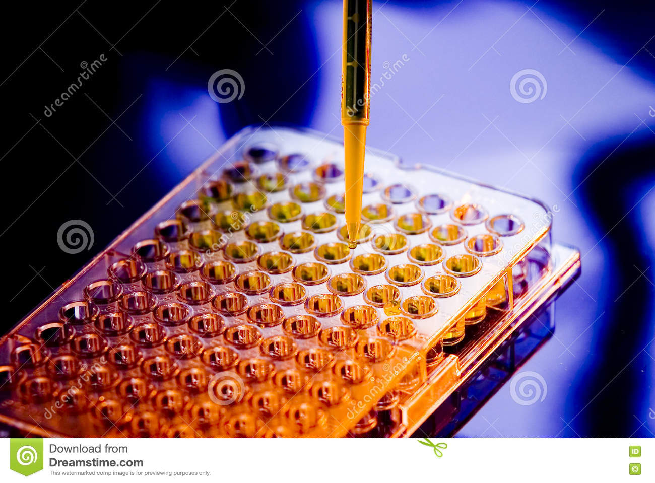 Hospital Medical Sample Tray Pipette Testing Laboratory