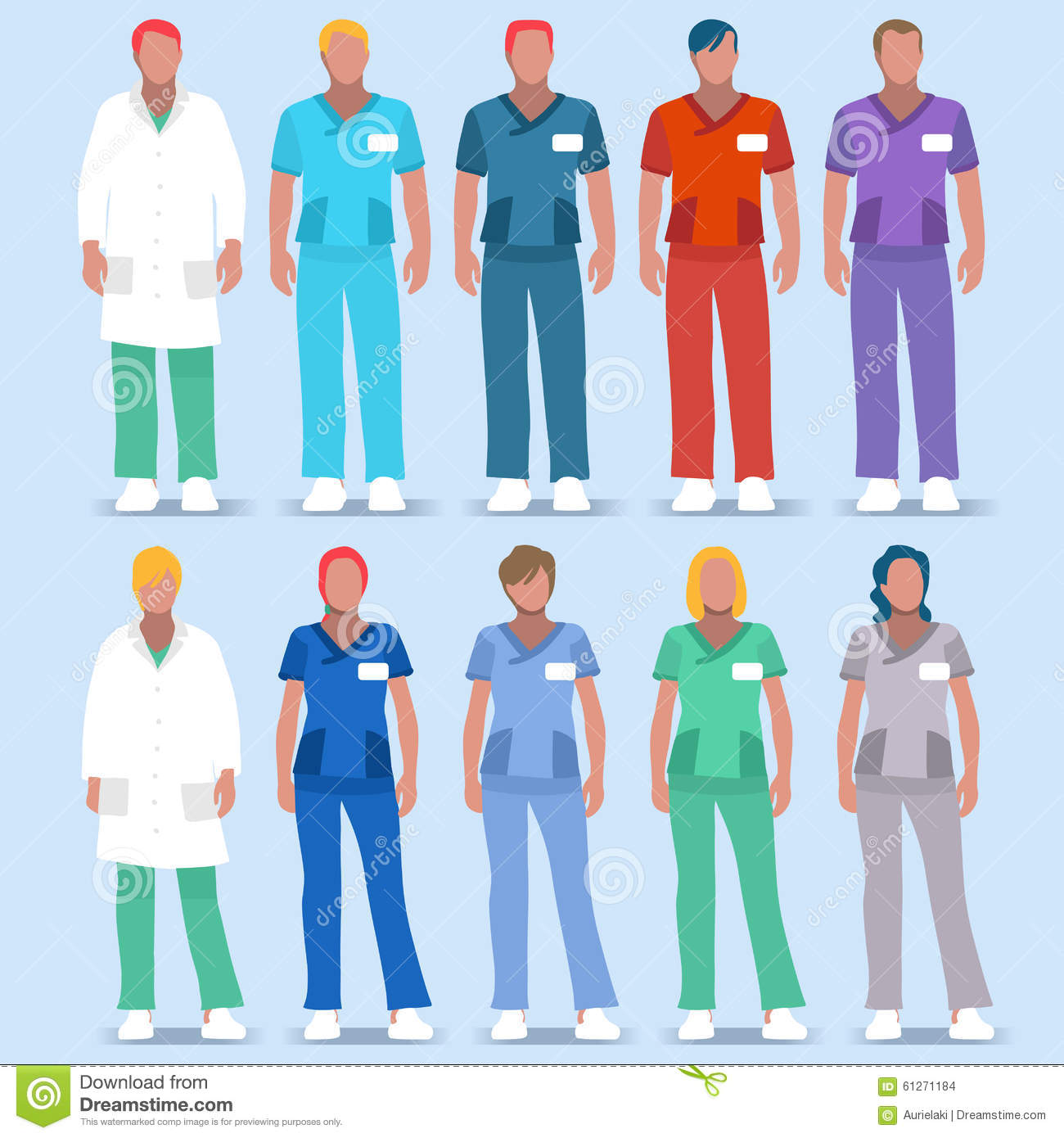 Hospital 01 People 2D stock vector  Illustration of icon