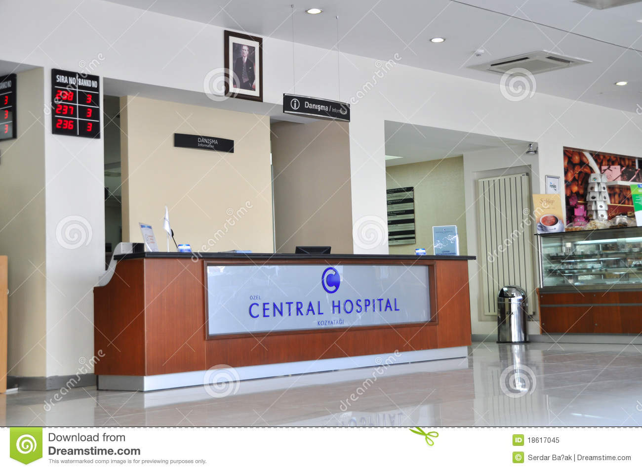 Hospital Reception And Lobby Editorial Image Image 18617045