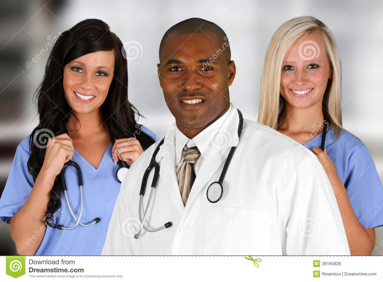 Hospital Staff Royalty Free Stock Photos - Image: 26165828