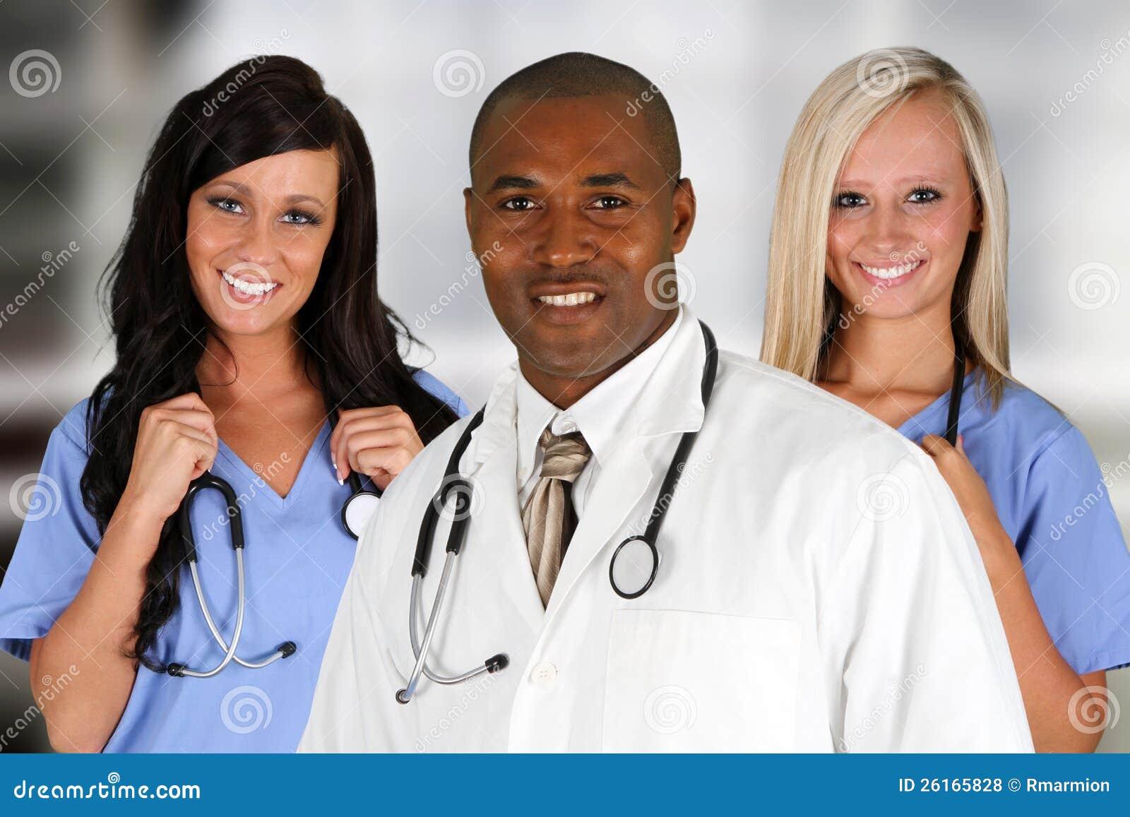Hospital Staff Royalty Free Stock Photos - Image: 26165828
