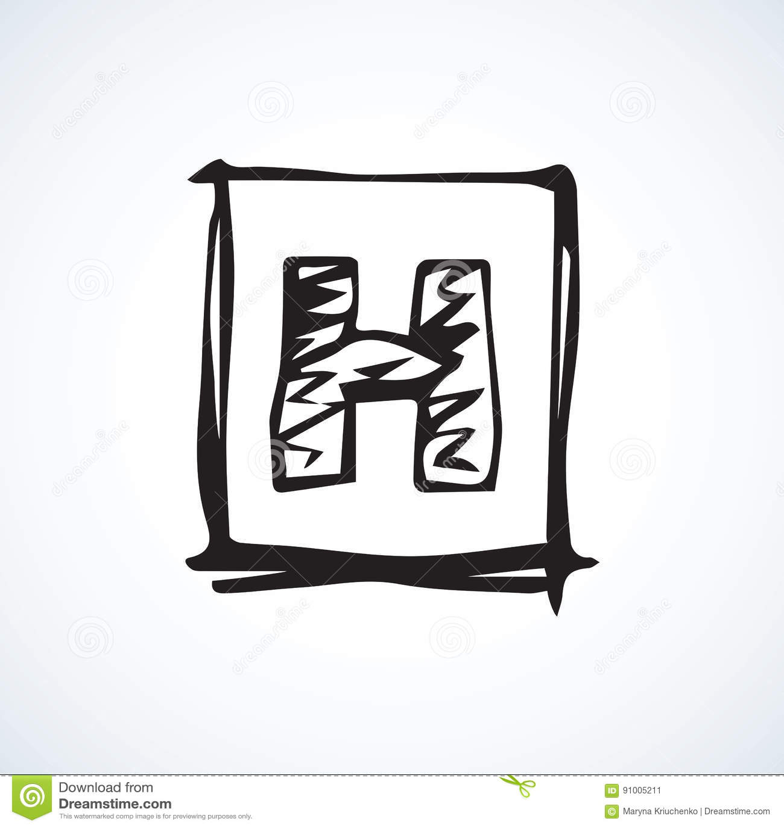 Hospital Symbol. Vector Drawing Stock Vector - Illustration of ...
