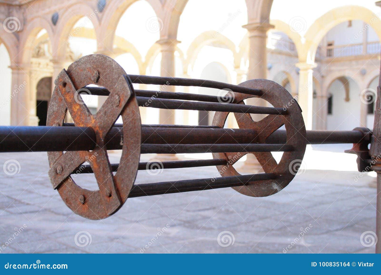 Water Well - Water Wheel Mechanism  Stock Photo - Image of