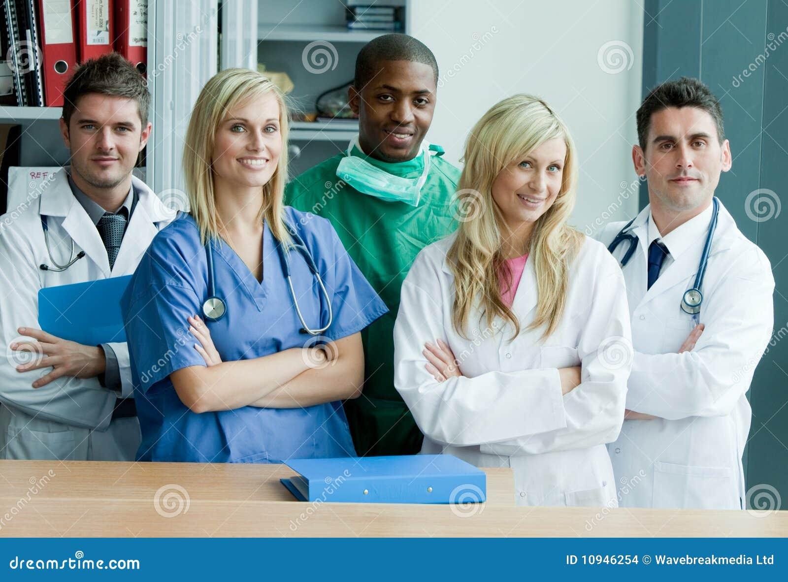 Hospital team work