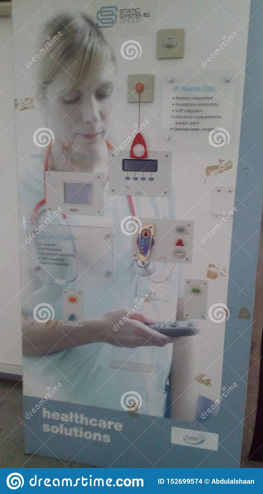 Hospital use better future touch