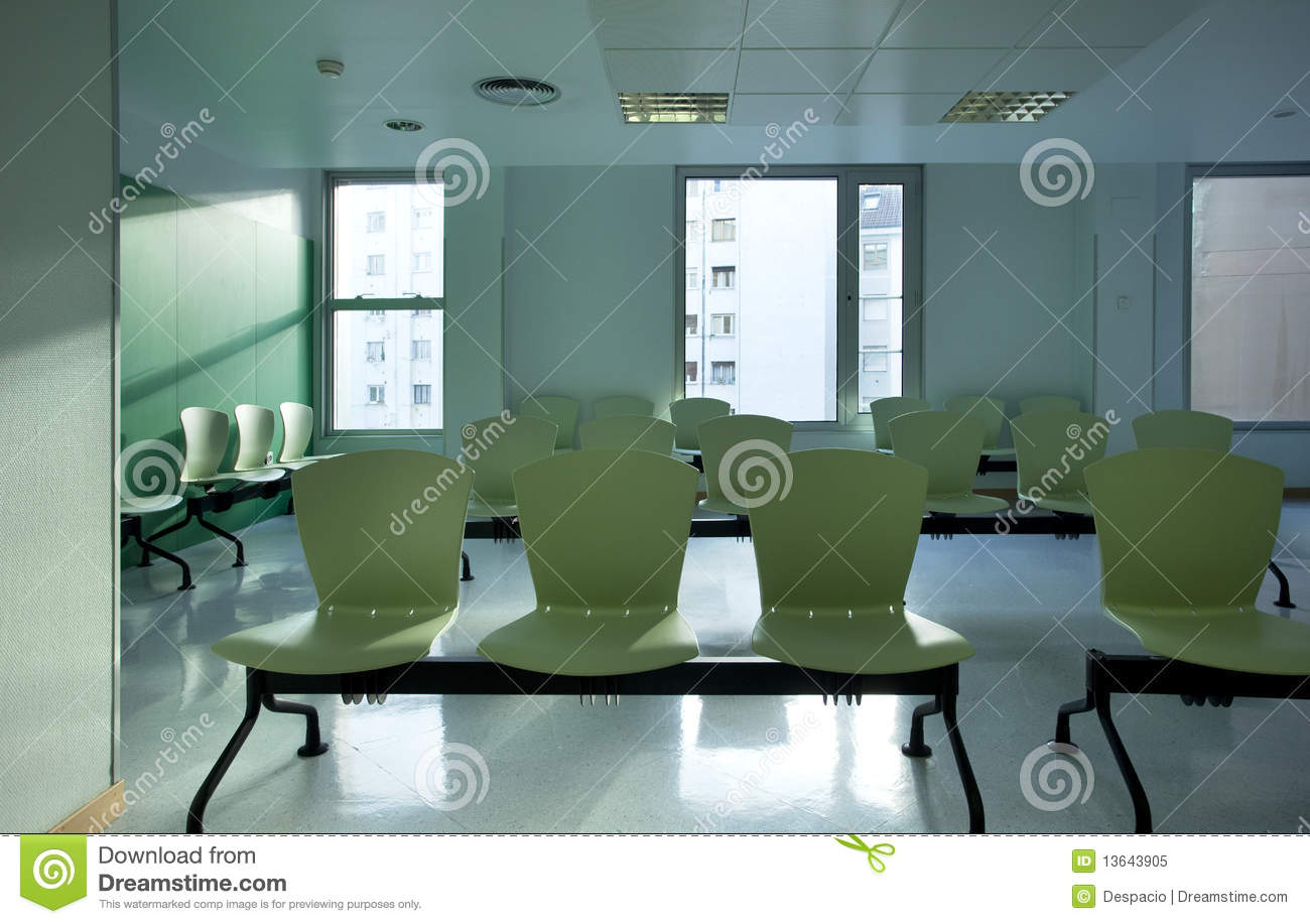 Hospital waiting room royalty free stock photo image 13643905