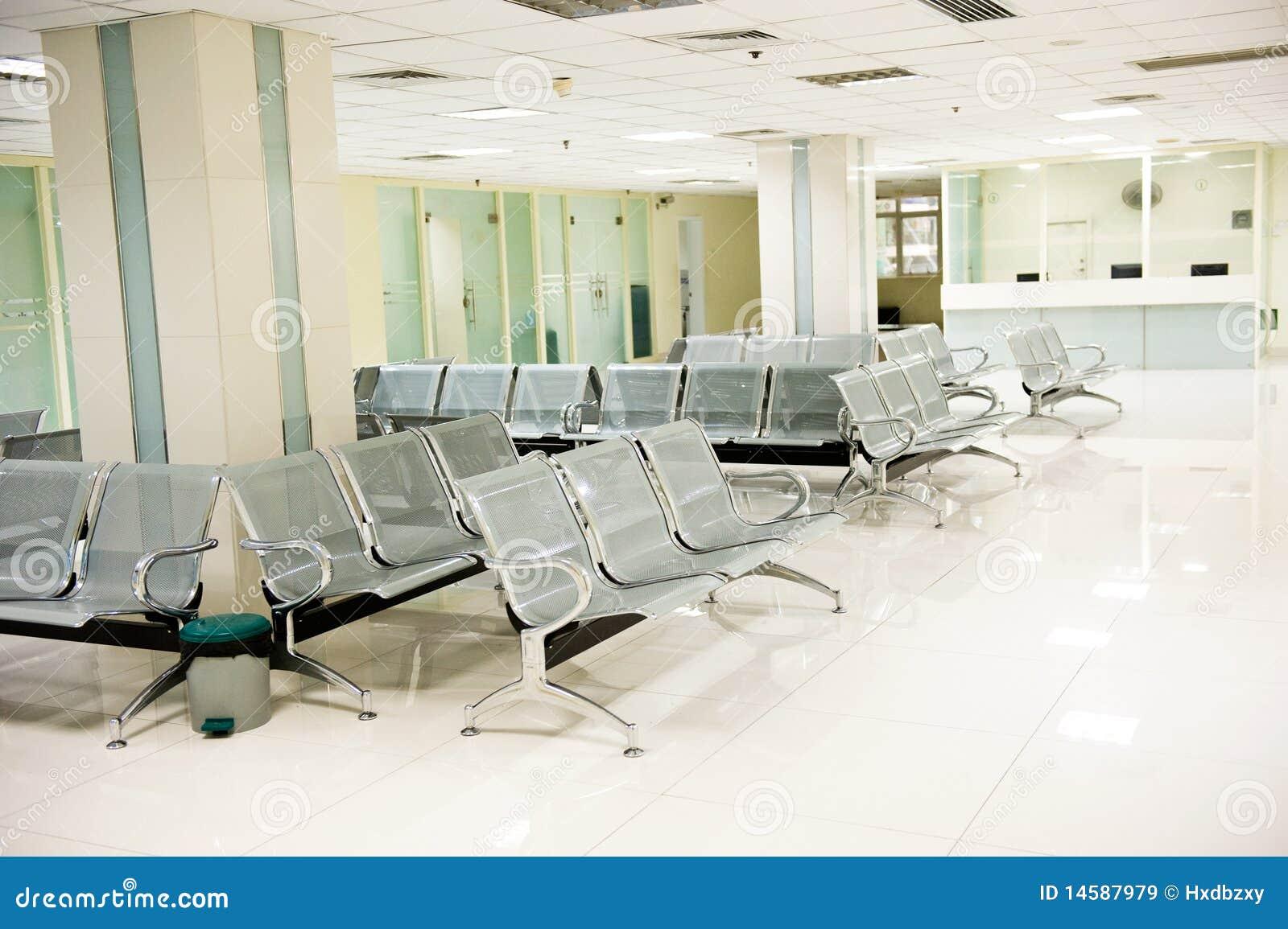 Hospital waiting room stock image Image of decoration