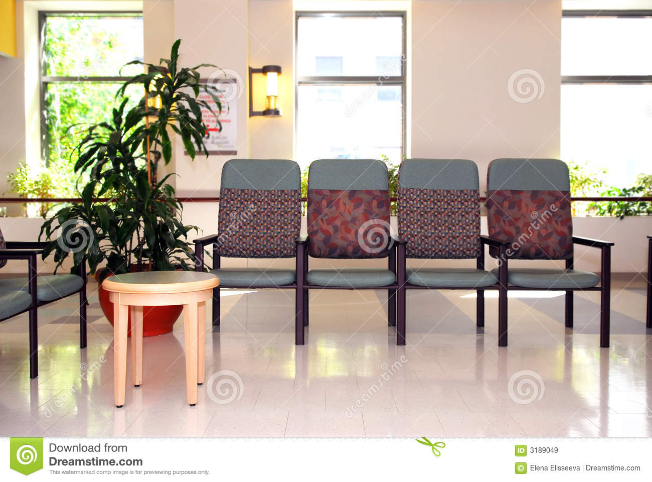 Hospital waiting room royalty free stock images image 3189049