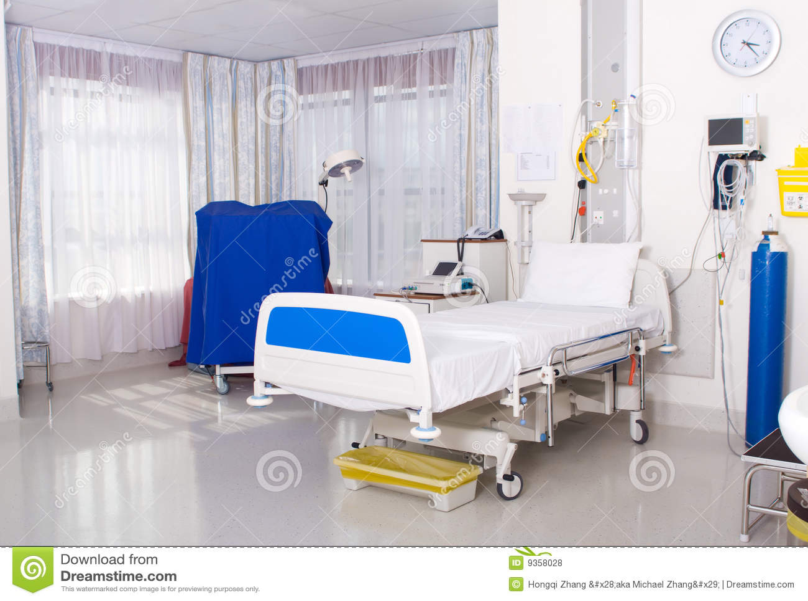 Hospital ward stock photo. Image of hospital, help, disease - 9358028