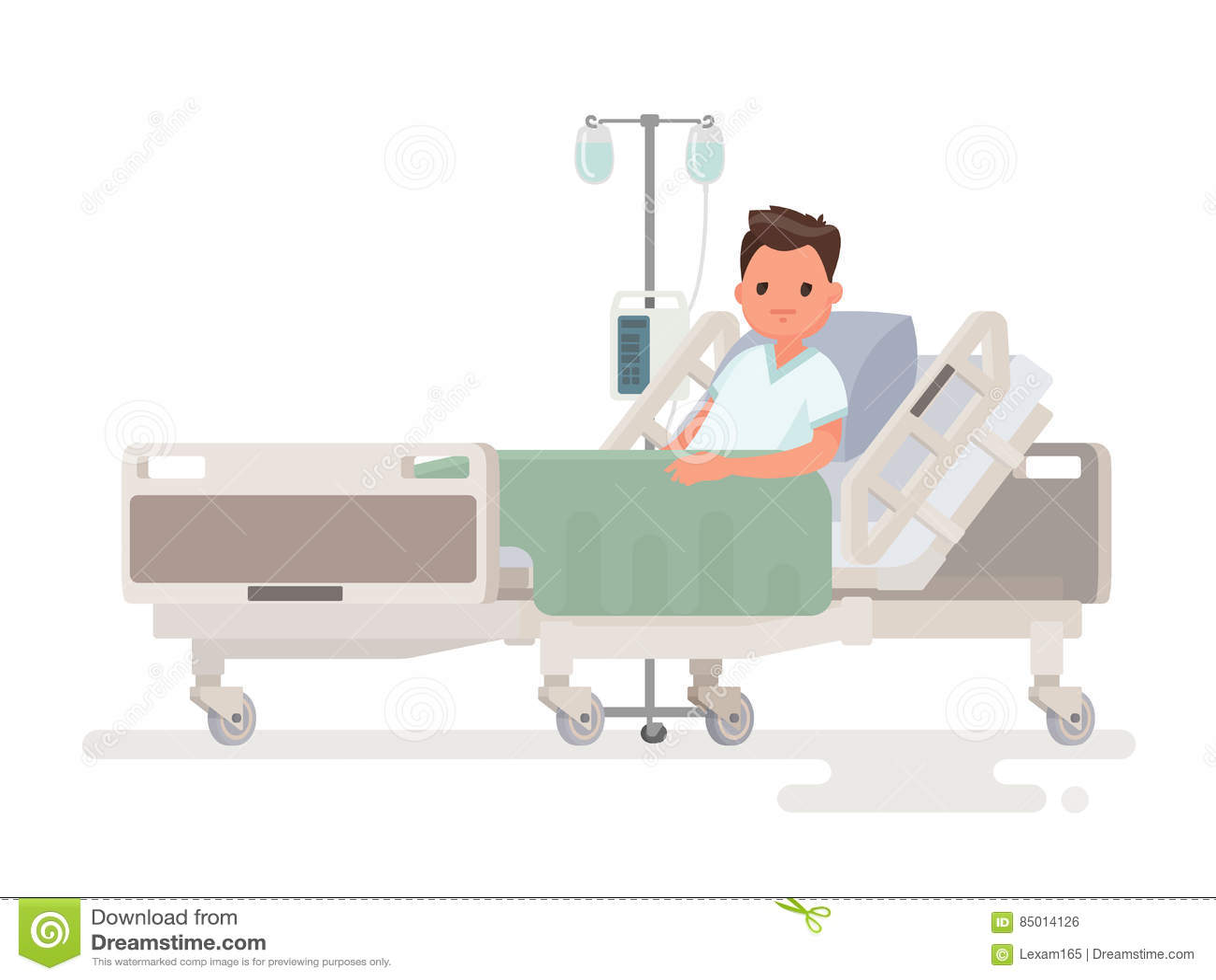 hospitalizaci u00f3n del paciente una persona enferma est u00e1 en funny sick person clipart funny sick person clipart