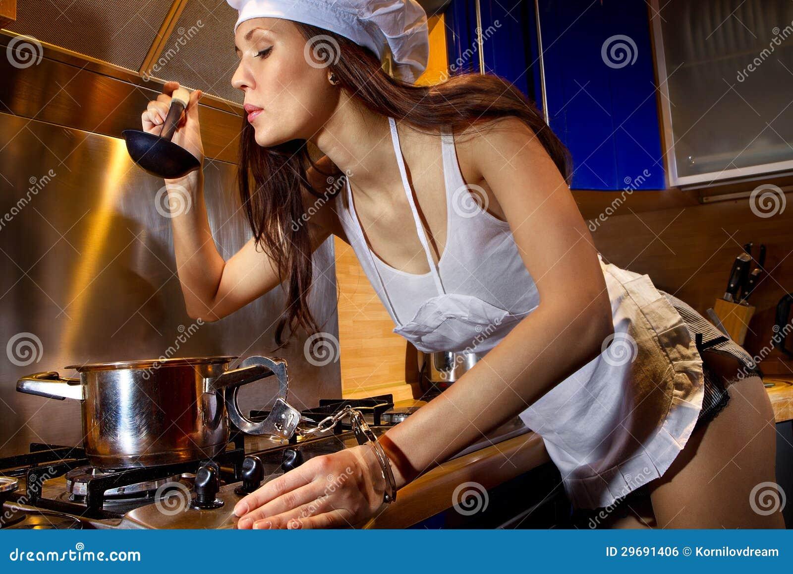 hostage of kitchen royalty free stock image image 29691406. Black Bedroom Furniture Sets. Home Design Ideas