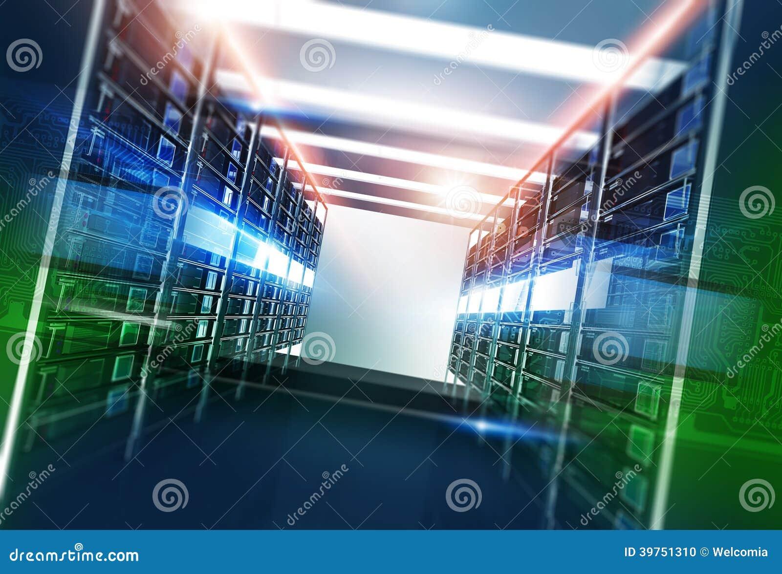 Hosting Servers Room