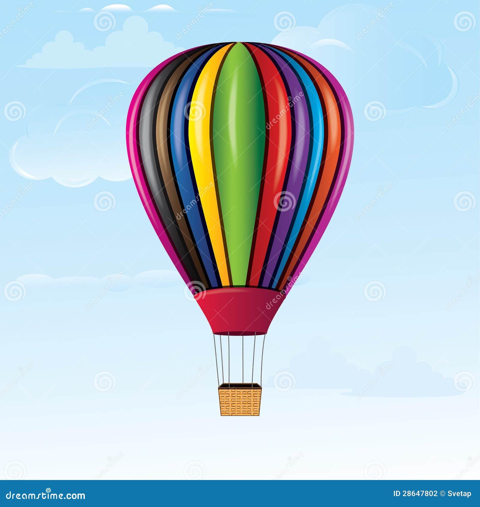 Hot Air Balloon Stock Photography - Image: 28647802