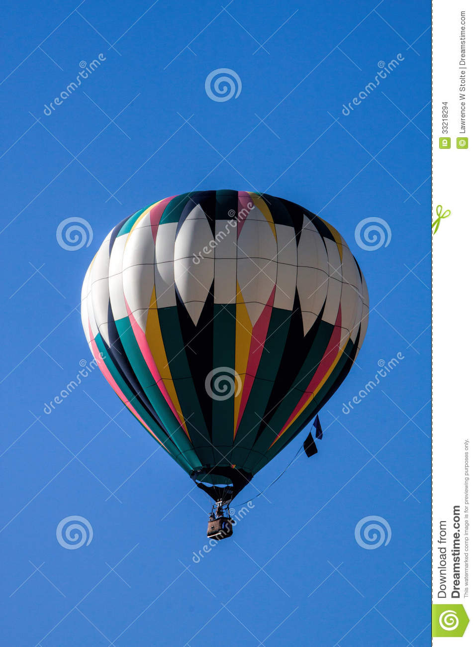 Hot Air Balloon Stock Images Image 33218294