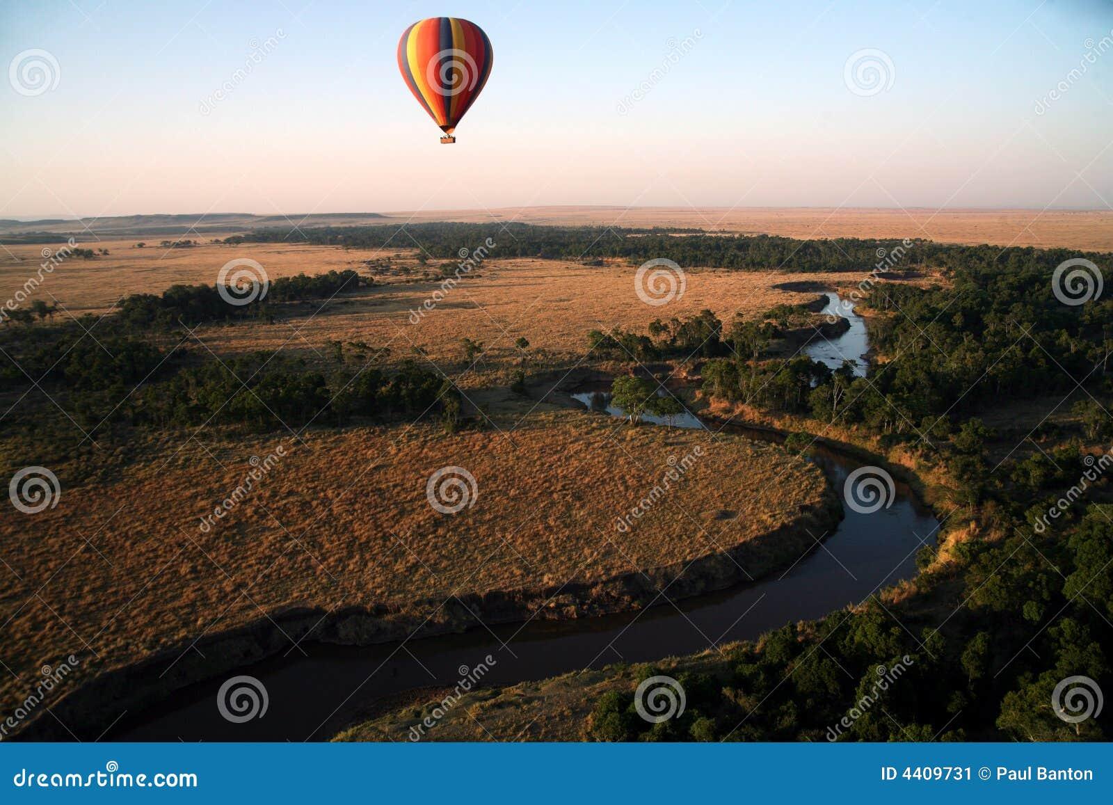 Hot Air Balloon (Kenya)