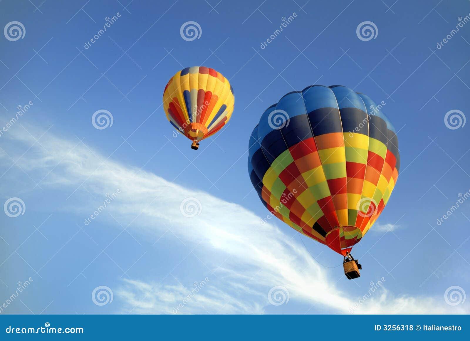 Hot air balloons 5