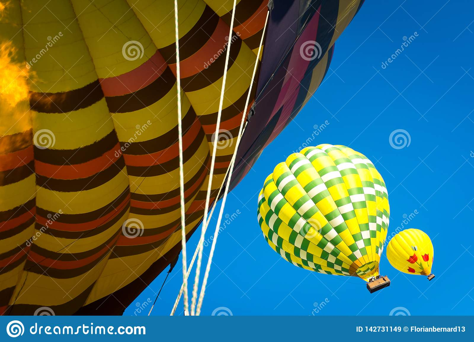 Hot air balloons Napa Valley