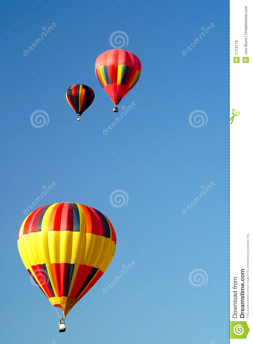 Hot Air Balloons In The Sky Royalty Free Stock Images ...