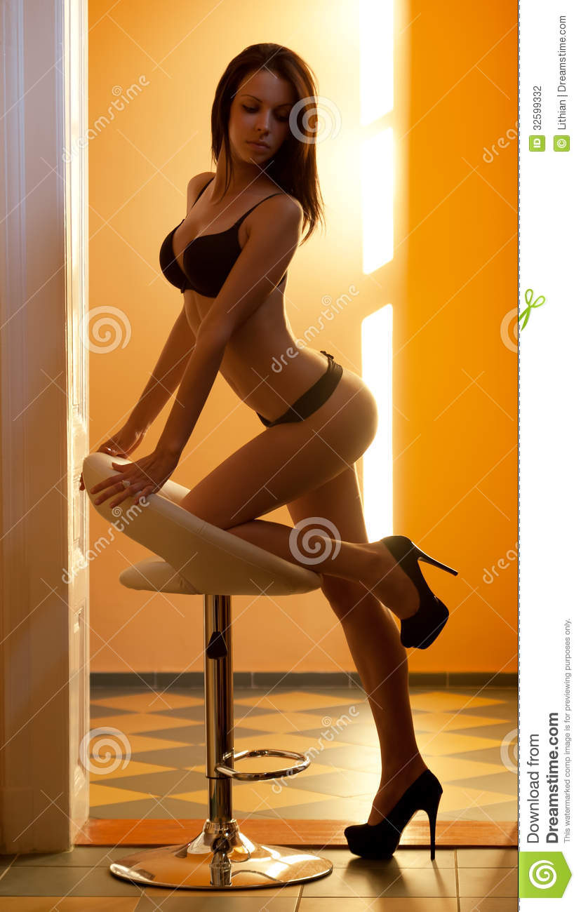 Hot Babe In Hot Colors Stock Photography - Image 32599332-9386