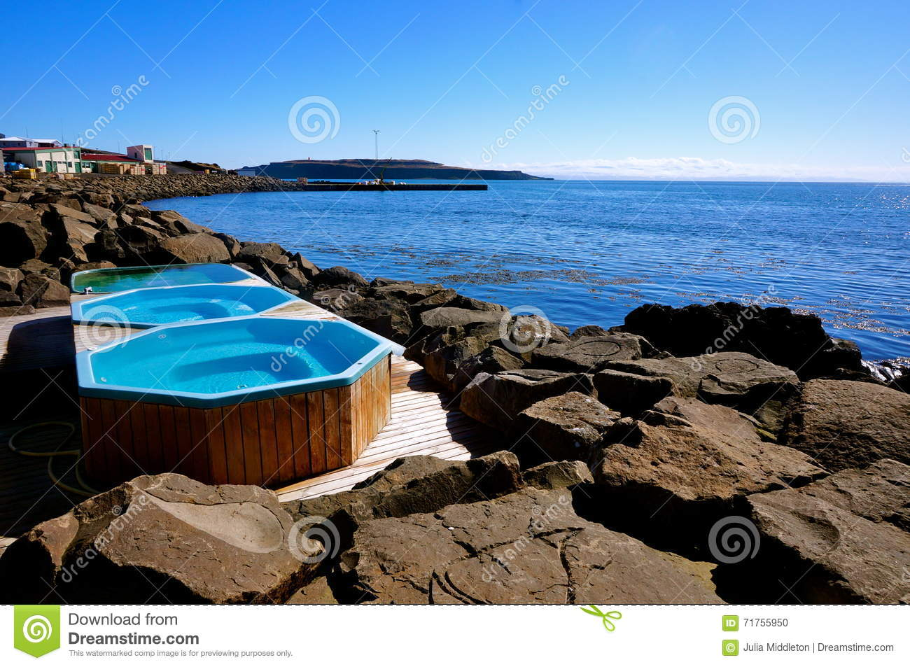 Natural Jacuzzi Iceland.Hot Bath Iceland Stock Photo Image Of Iceland Swimming