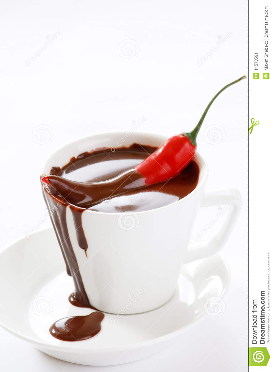 Hot Chocolate With Chili Stock Image - Image: 11578531
