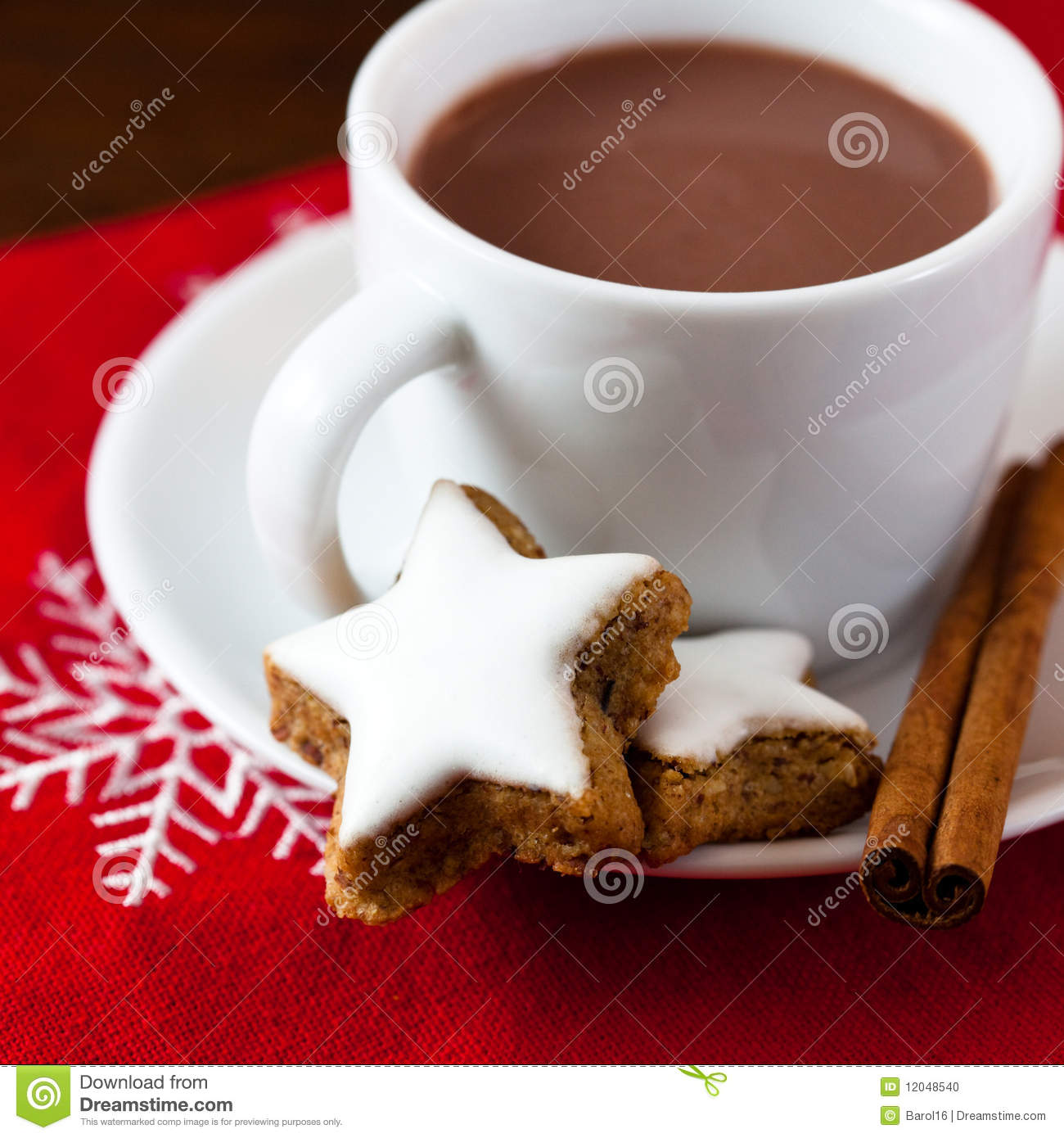 Red Cup Hot Chocolate Animation