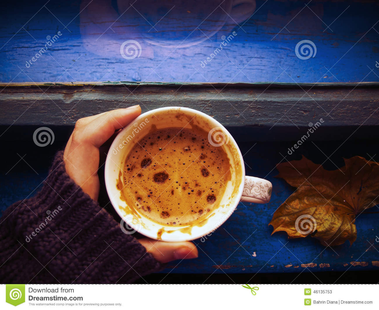 Hot coffee for cold weather stock photo image 46135753 for Best windows for cold climates