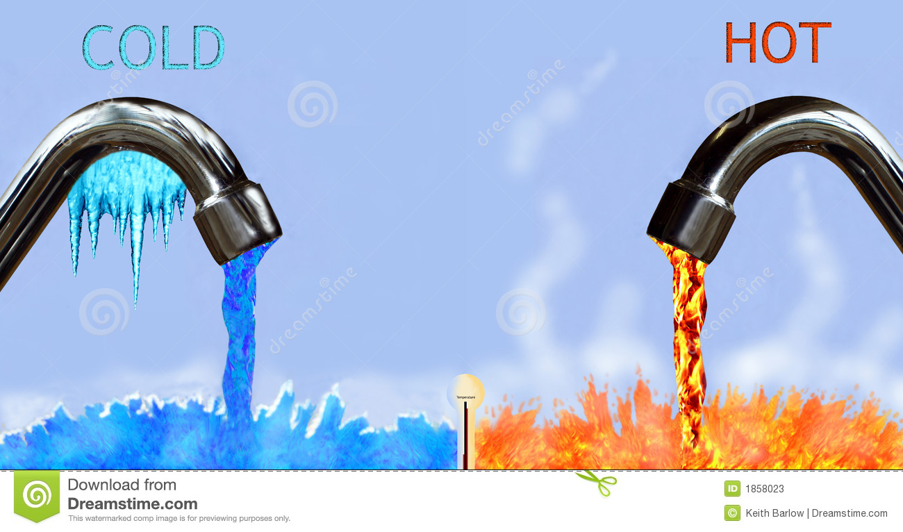 Hot And Cold Stock Photos Image 1858023
