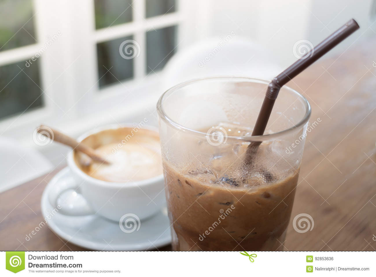 Hot And Cold Coffee Drink