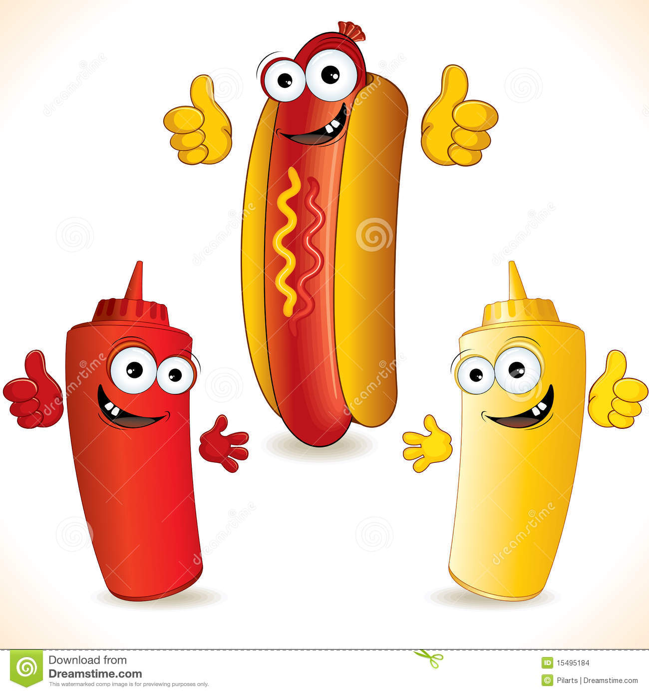 Picture Of Hot Dog Clipart