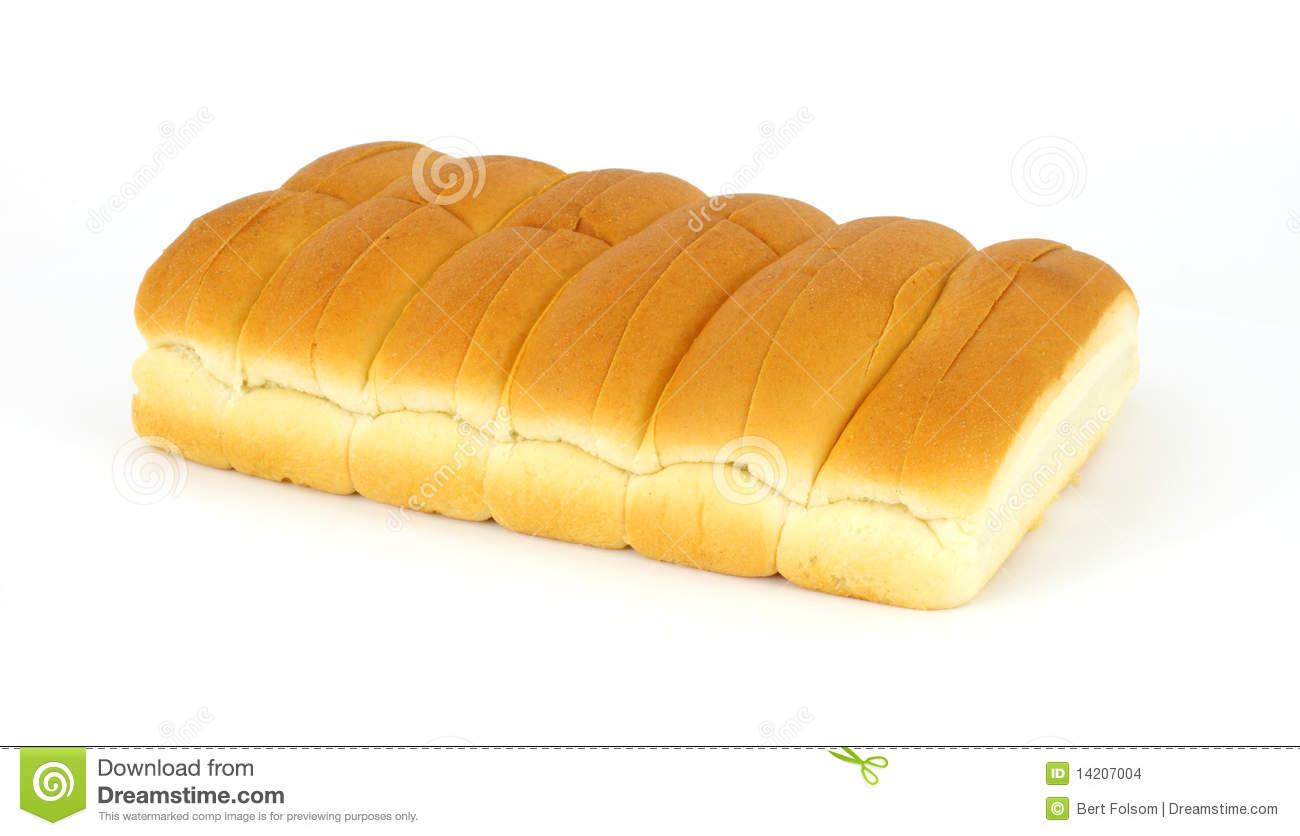 group of freshly baked hot dog buns on a white background.