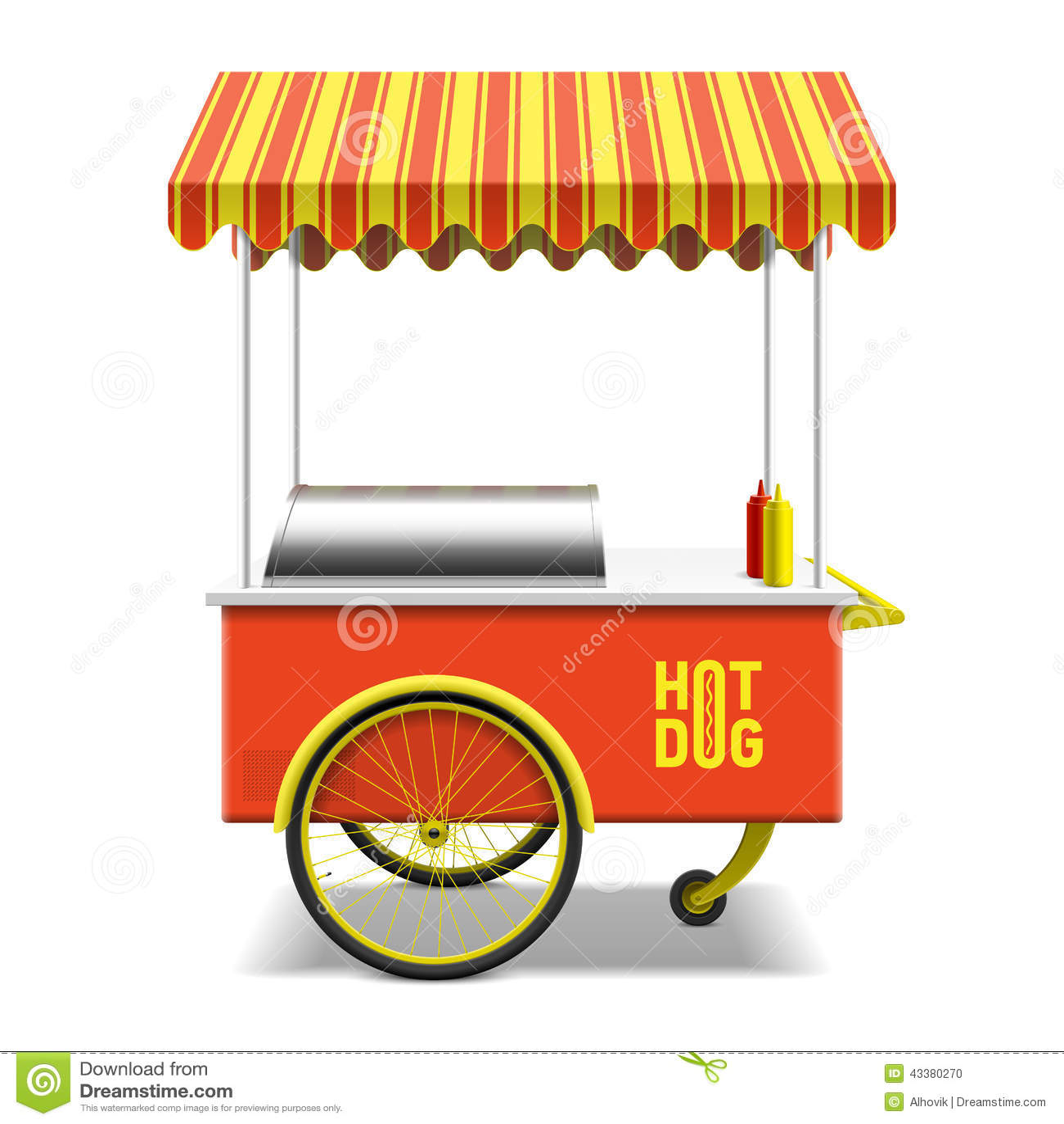 Chariot De Hot Dogs