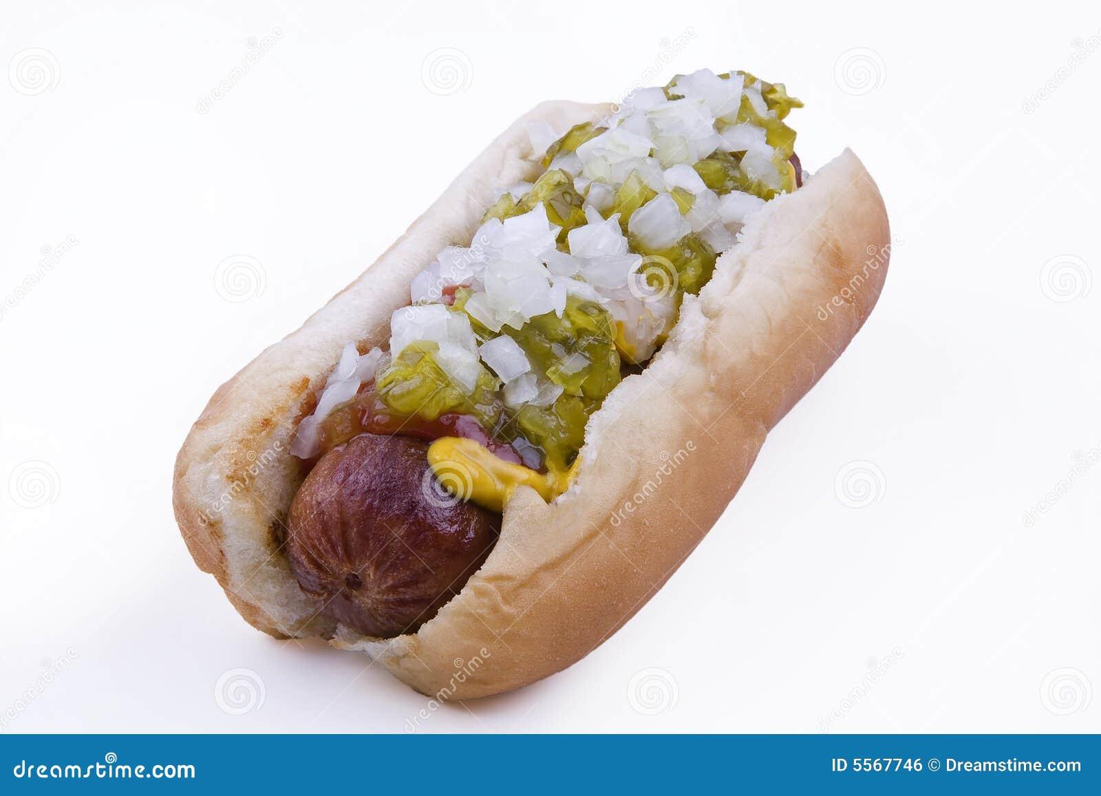 Hot dog con gli impianti