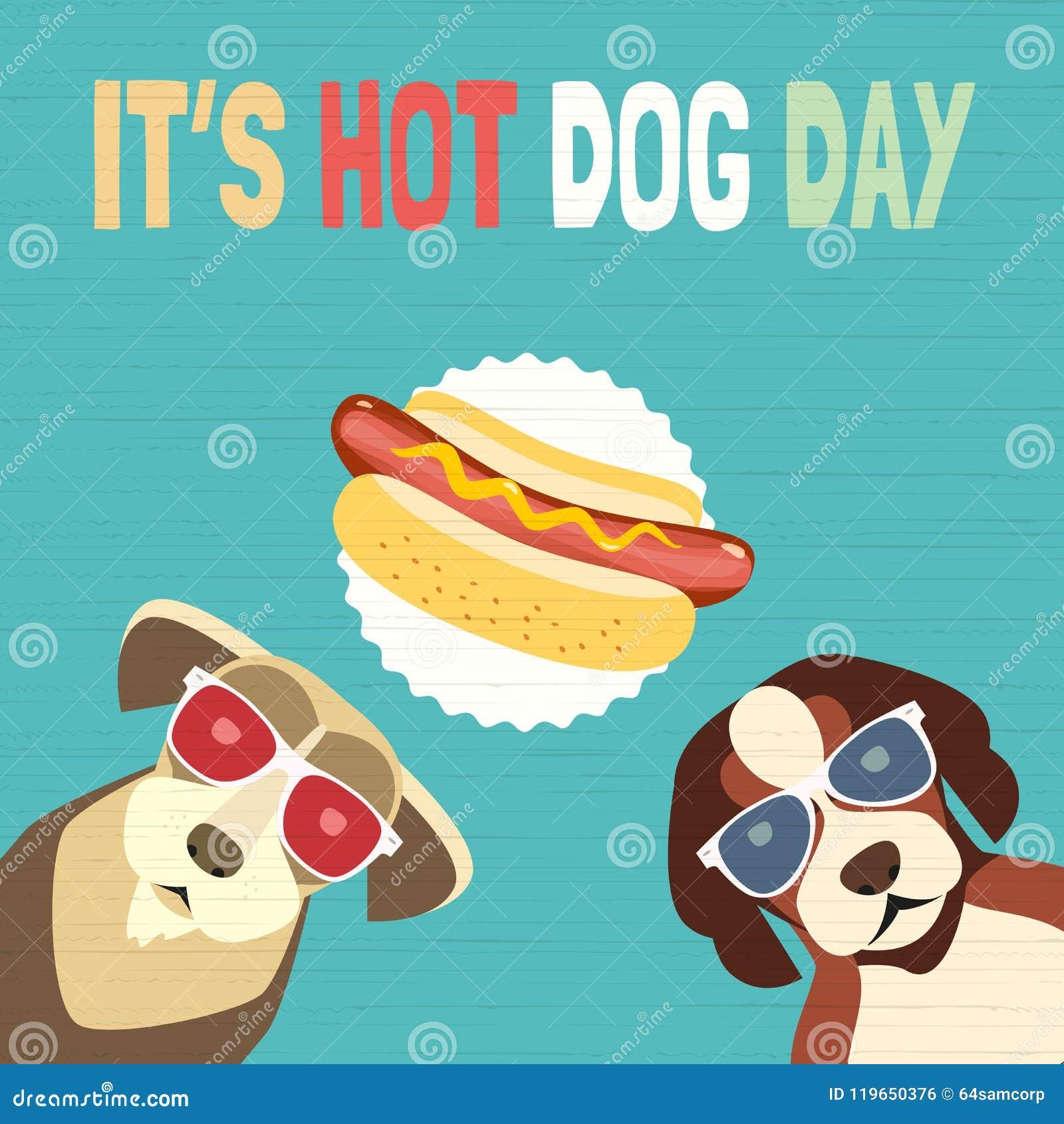 Hot dog dnia ikona