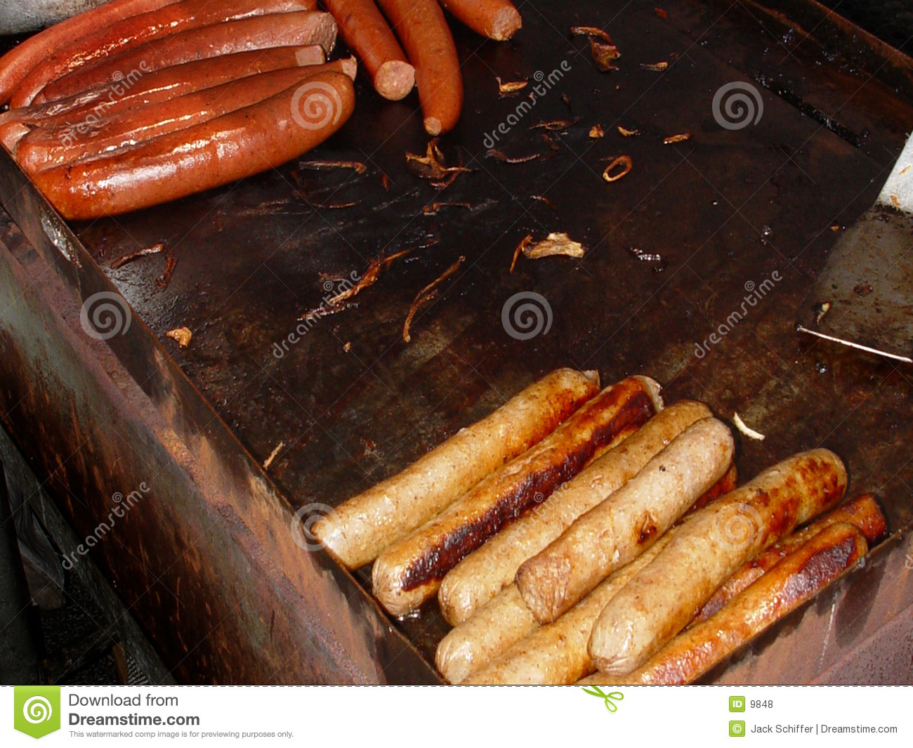 Hot dog e salsiccia