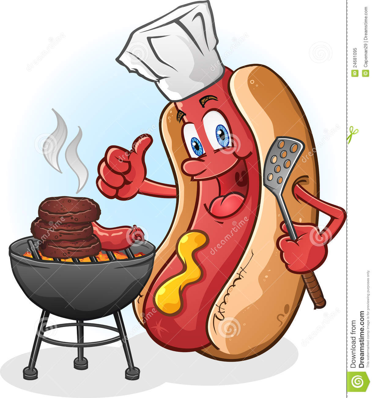 Hot Dog Grill Cooking Time